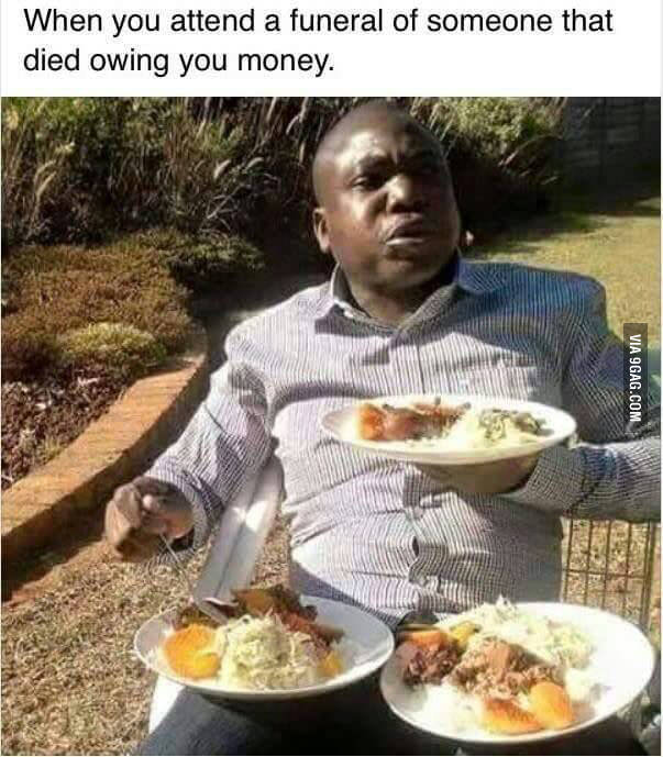 When Someone Dies Owing You Money