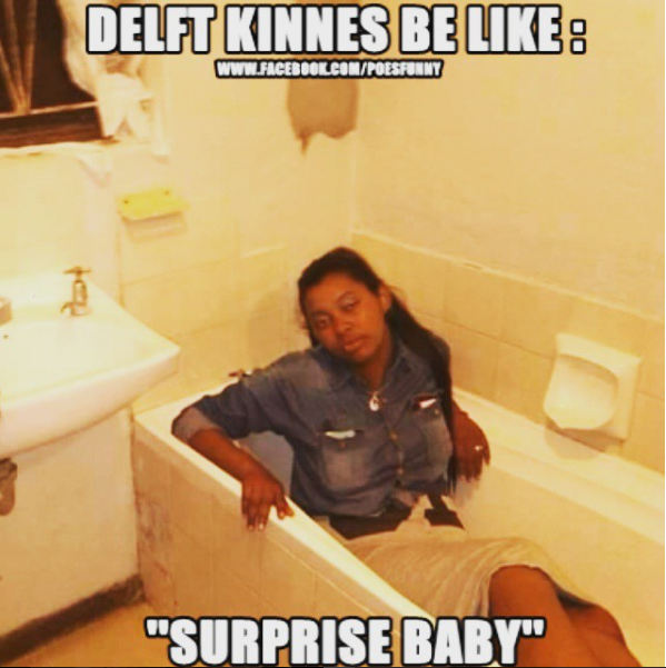 Delft Kinnes Be Like - Surprise Baby