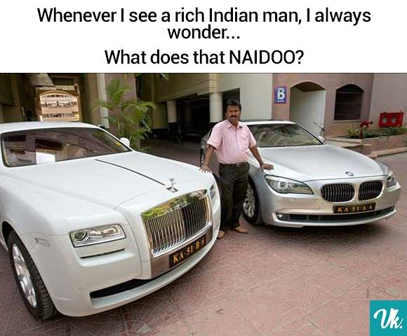 What Does That Naidoo?