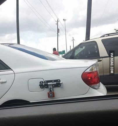 Anti-theft Petrol Cap Only In SA