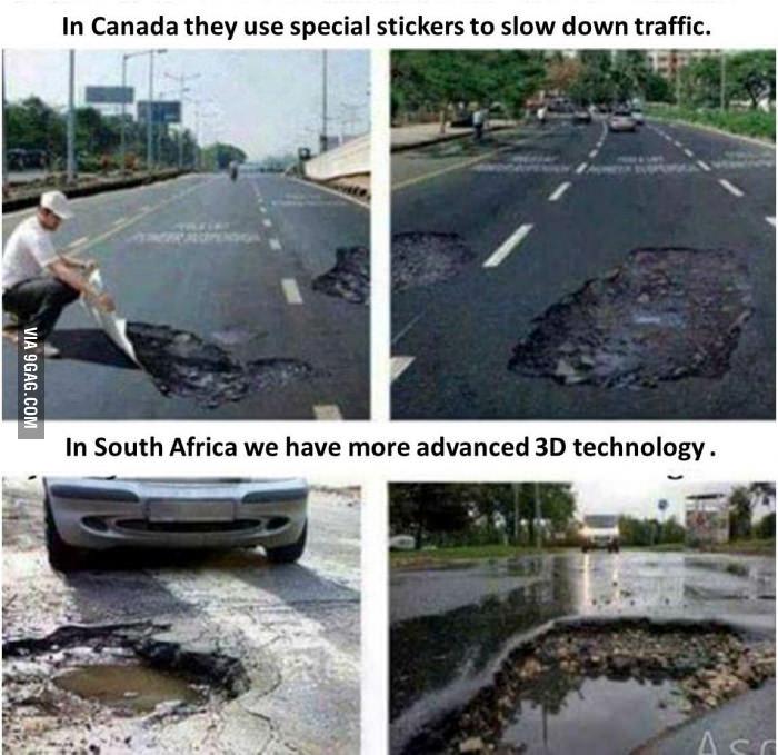 SA Got 3D Printed Potholes