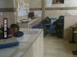 SA Cops On Duty