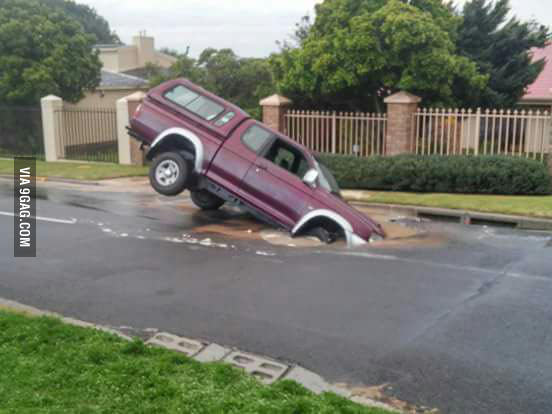 Potholes In SA