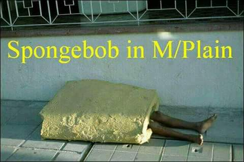 Sponge Bob in Mitchells Plain